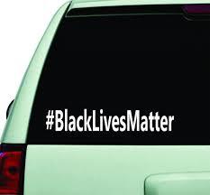 Black Lives Matter Hashtag Car Window Decal Sticker Wall Vinyl Art Dec Boop Decals