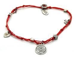 king solomon seal charms ankle bracelet
