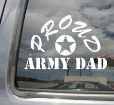 Proud Army Dad Father Car Laptop Bumper Window Vinyl Decal Sticker 09045 Ebay