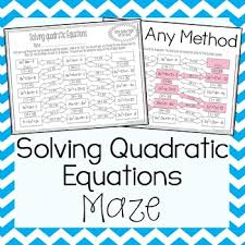 quadratic equations graphing worksheets