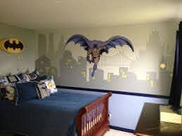 Pin By Molliye Mckinley On Kids Room Decor Batman Bedroom Batman Themed Bedroom Batman Bedroom Decor