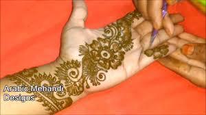 mehndi design full hand easy design