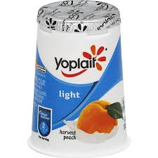yoplait light yogurt fat free harvest