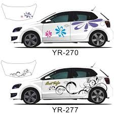 Decals For Your Car Beautiful Flower Full Body Car Decal Sticker Beautiful Body Car Decal Decals Flower Fu Car Decals Flower Car Car Decals Stickers