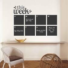 Wall Decal This Week Blackboard Planner Removable Vinyl Chalkboard Calendar Decor Sticker Memo Home Wall Decal Sticker Ay011 Wall Stickers Aliexpress