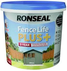 Ronseal 9l Fence Life Plus Garden Shed Fence Paint Uv Potection All Colours 9l Willow Amazon Co Uk Diy Tools