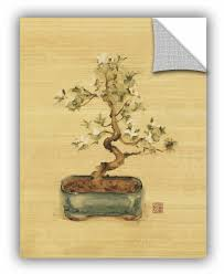 Artwall Bonsai Ii Wall Decal Wayfair
