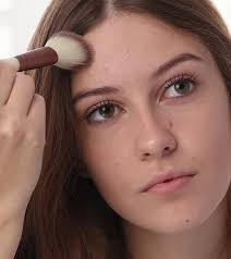 how to hide pimples with makeup