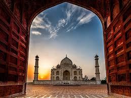 india taj mahal mosque gate