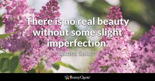james salter there is no real beauty out some slight