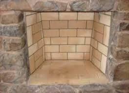masonry firebox repair