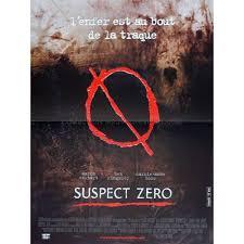 SUSPECT ZERO French Movie Poster