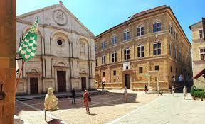 """Il centro storico di Pienza, """"città ideale"""" di Pio II e Patrimonio ..."""