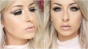 glam cut crease prom makeup tutorial