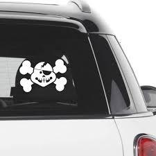 Pirate Car Sticker Pirate Symbol Pirate Skull Car Decal Car Etsy