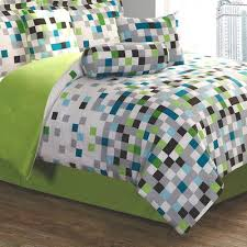 pixel comforter set minecraft bedding