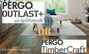 pergo timbercraft vs pergo outlast