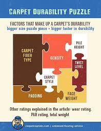carpet durability face weight