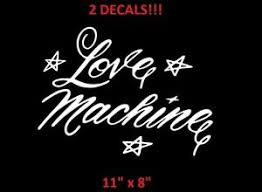 2 Cheech And Chong Love Machine 63 Impala Up In Smoke Window Decals Stickers Ebay