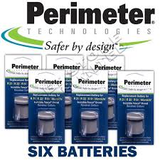 3 Contacts Perimeter Invisible Fence R21 R22 R51 Dog Collar Batteries Pet Supplies Collars