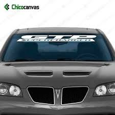 Pontiac Grand Prix Gtp Supercharged 42 X4 Windshield Banner Vinyl Decal Sticker Ebay