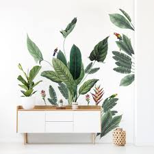 Beautiful Vintage Jungle Mural Wall Stickers For Happy Homes Made Of Sundays