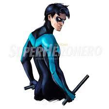 Designs Nightwing Iron On Transfers Wall Car Stickers No 5050 Superheroironons 0510 2 Superheroironons Com