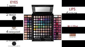 sephora makeup academy palette guide