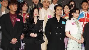 Myolie Wu avoids Bosco Wong at TVB event
