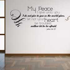John 14 27 Lord S Prayer Christian Scripture Wall Decor My Peace I Give Unto You