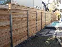 Pin By Kristine Fisher On Privacy Fences Horizontal Fence Washington Houses Backyard