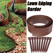 Diy Garden Border Landscape Edging Lawn Edge Grass Backyard Fence Plant Fencing For Patio Pavement Walmart Canada