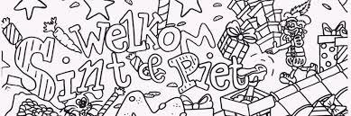 Welke Sinterklaas Kleurplaten Zijn Er Crea Met Kids