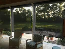 retractable exterior solar screen
