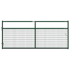 Behlen Country 10 Ft X 1 5 8 In Dia In Ground Wire Filled Gate 40132102 The Home Depot