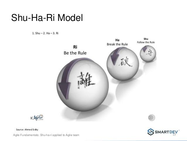 """Image result for what is shu ha ri"""""""