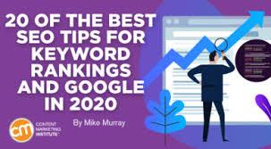 Best SEO Tips for Keyword Google Rankings