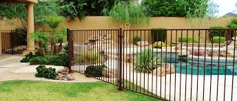 Home Ironman Pool Fence