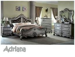 Cosmos Furniture Contemporary Adriana King Bedroom Set, total of 5 ...