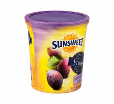 calories in sunsweet prunes bite size