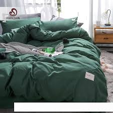 a parkshin dark green bedding set decor