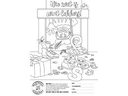 Kleurwedstrijd Sinterklaas Bakkerij Boonstra