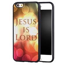 christian jesus is lord quotes soft silicone protective case cover