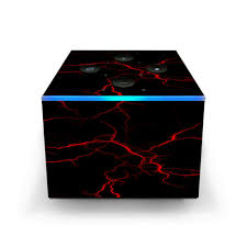 Skin Decal For Smok Mag Tfv12 Prince Tank Vape Red Lightning Bolts Electric For Sale Online Ebay