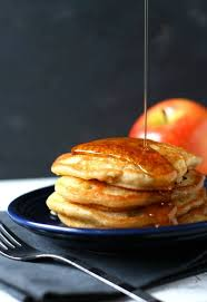 vegan apple cinnamon pancakes the