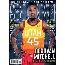 Donovan Mitchell Officially Licensed Slam Magazine Removable Wall Decal