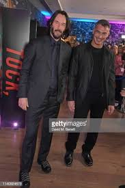 Keanu Reeves and Director Chad Stahelski attend a special ...