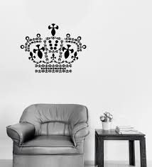 Wall Vinyl Decal Sticker Crown S King Sign Kingdom Unique Gift N1278 Wallstickers4you