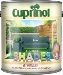 Cuprinol 5083479 Garden Shades Exterior Woodcare Sage Amazon Co Uk Diy Tools
