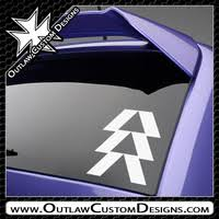 Vinyl Decals Video Games Destiny Outlaw Custom Designs